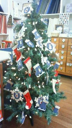 クリブのクリスマスツリー