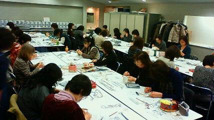 東京ドームで講習会
