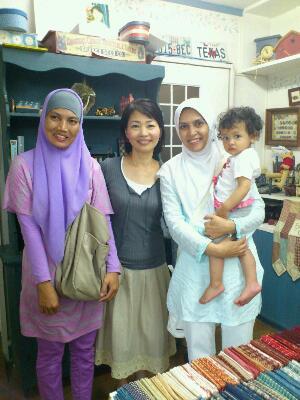 インドネシアからのお客さま