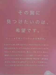ピンクリボンin<br />  京都