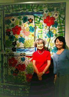 岡野栄子さんの作品展