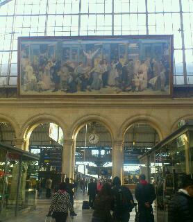 パリに着きました