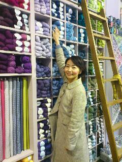 パリの毛糸屋さん