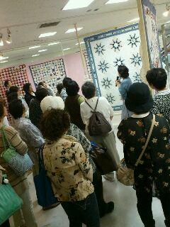クリブキルト展 in <br />  札幌
