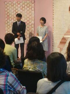 若山雅子 クリブキルト作品展&amp;<br />  ピンクリボン展 1<br />  日目