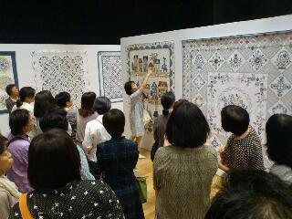 若山雅子クリブキルト作品展&amp;<br />  ピンクリボン展 2<br />  日目