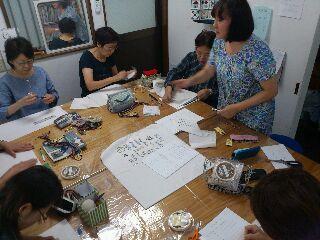 クリブ刺繍クラス