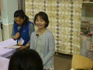 東京ドームの東京国際キルトフェスティバル 最終日