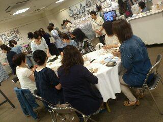 クリブキルト展@<br />  東急本店 5<br />  日目