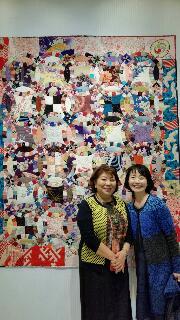 岡本洋子先生のキルト展
