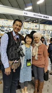 東京国際キルトフェスティバル2日目 アリーナステージ
