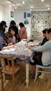 出版記念作品展in青山 3日目