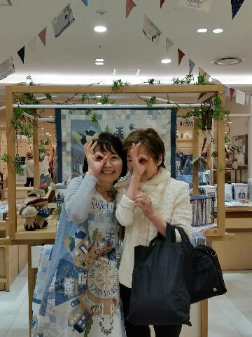 若山雅子出版記念作品展@うめだ阪急セッセ3日目+ソルトレーク