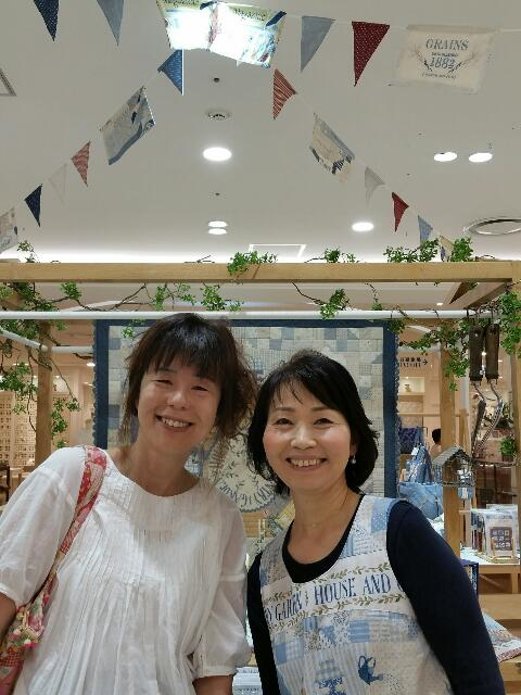 若山雅子出版記念作品展@うめだ阪急セッセ4日目