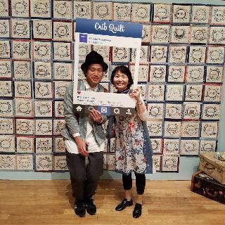 クリブキルト作品展 最終日